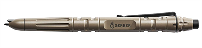 Тактическая ручка Gerber Impromptu Tactical Pen - Flat Dark Earth 31-003226 - фото 7659