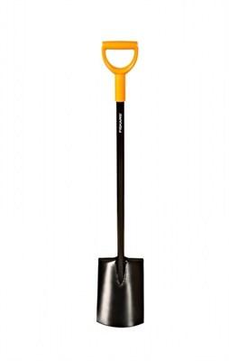 Лопата Fiskars 131403 с закругленным лезвием серии SolidTM - фото 7904