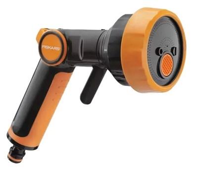 Пистолет-распылитель Fiskars 1020446 регулируемый с 4 функциями - фото 8145