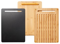 Набор разделочных досок из бамбука FF